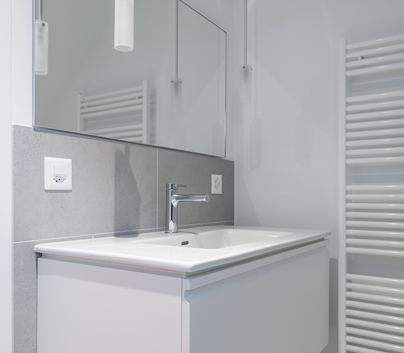 Wohnungsumbau Badsanierung Zürich Architekturbüro Cityplan AG