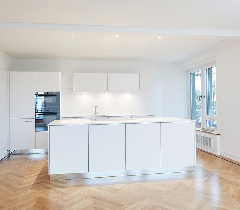 Umbau Wohnung Zürich Architekturbüro Cityplan AG